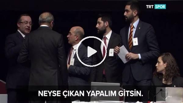'Galatasaray Mali Genel Kurulu'nda oylama tartışması