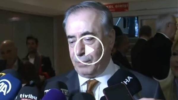 """'Mustafa Cengiz: """"Galatasaray'ın karakterinde şampiyonluk vardır"""""""