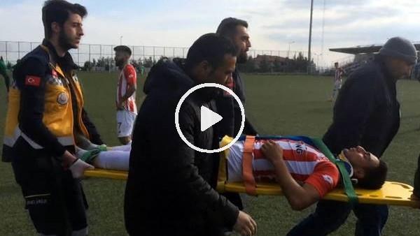 Dili boğazına kaçan futbolcu hayata döndürüldü