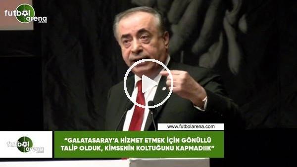 """'Mustafa Cengiz: """"Galatasaray'a hizmet etmek için gönüllü takip oluk"""""""
