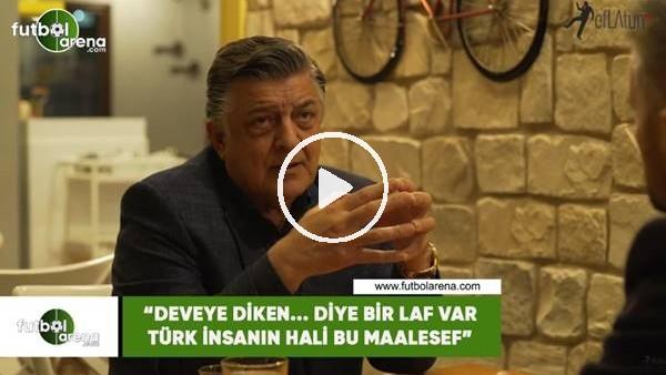 """'Yılmaz Vural: """"Deveye diken... diye bir laf var Türk insanın hali bu maalesef"""""""