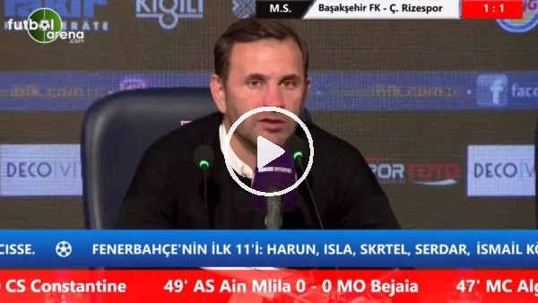 'Okan Buruk'tan Beşiktaş ve Başakşehir iddialarına cevap