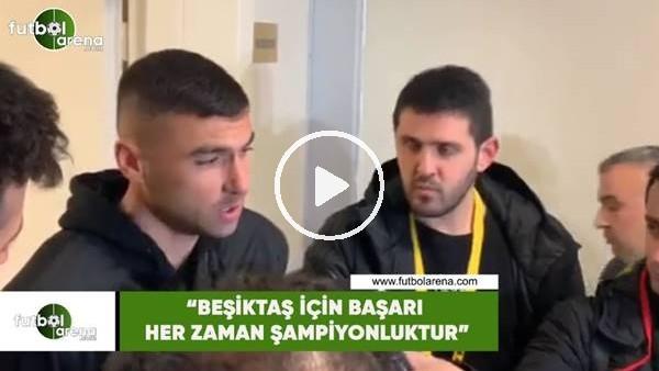 """'Burak Yılmaz: """"Beşiktaş için başarı her zaman şampiyonluktur"""""""