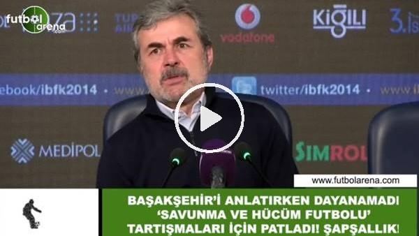 """'Aykut Kocaman, """"Savunma ve hücum futbolu"""" tartışmaları için patladı! """"Şapşalca..."""""""