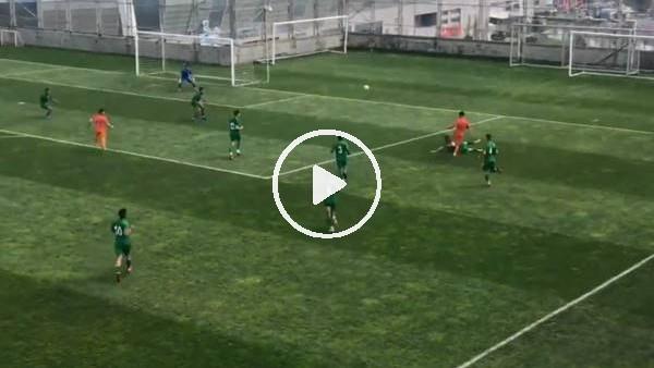 'Başakşehirli genç futbolcudan muhteşem asist