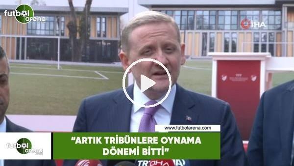 """'Göksel Gümüşdağ: """"Artık tribünlere oynama dönemi bitti"""""""