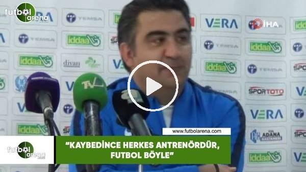 """'Ümit Özat: """"Kaybedince herkes antrenördür, futbol böyle"""""""