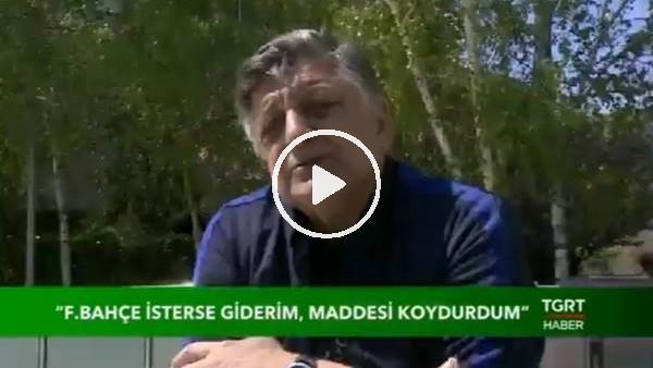 """'Yılmaz Vural'dan Fenerbahçe itirafı! """"Cocu gittiğinde...."""""""