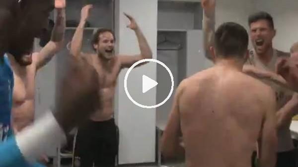 'Ajaxlı futbolcuların Juventus maçı sonrası çoşkulu sevinci