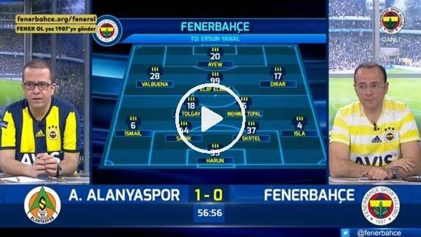 'Efecan Karaca'nın golünde FB TV spikerleri