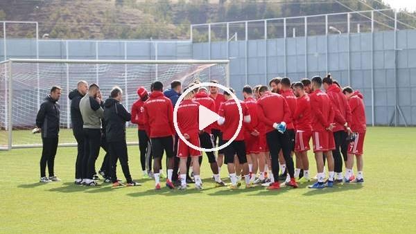 'Sivasspor, Konyaspor maçı hazırlıklarına başladı