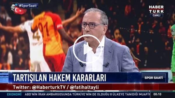 """'Fatih Altaylı'dan Galatasaraylı futbolculara sert sözler! """"Ahlaksızlık..."""""""