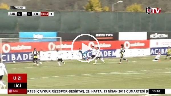 U21 Ligi'nde Fenerbahçe, Beşiktaş'ı 1-0 yendi