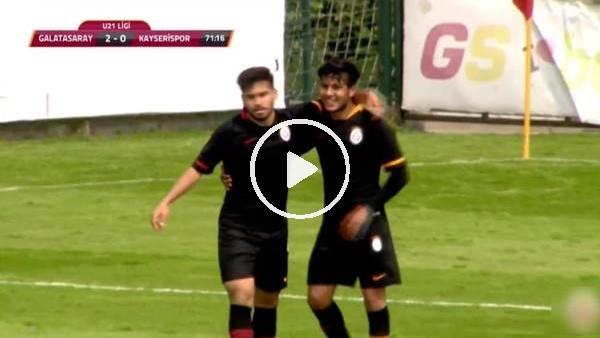 U21 - Galatasaray 4-0 Kayserispor (Maç özeti)