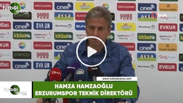 """'Hamza Hamzaoğlu: """"Ümidimizi canlı tutmaya çalışıyoruz"""""""