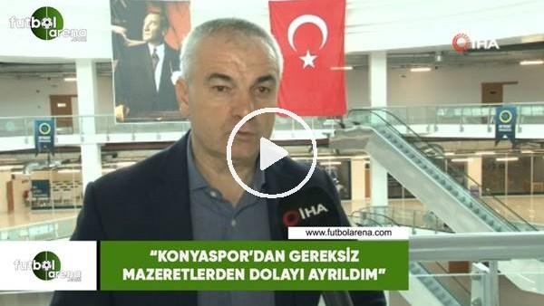 """'Rıza Çalımbay: """"Konyaspor'dan gereksiz mazeretlerden dolayı ayrıldım"""""""
