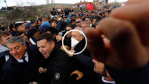 'Kemal Kılıçdaroğlu'na şehit cenazesinde saldırı