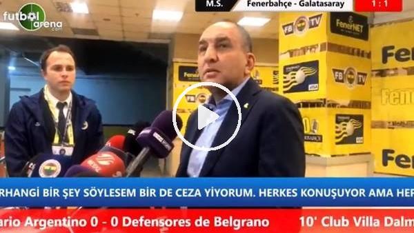 """Semih Özsoy: """"Beraberlik kabul etmeyecemiğiz bir sonuç"""""""
