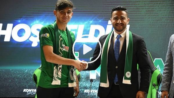 'Konyaspor, Ali Karakaya ile profesyonel sözleşme imzaladı