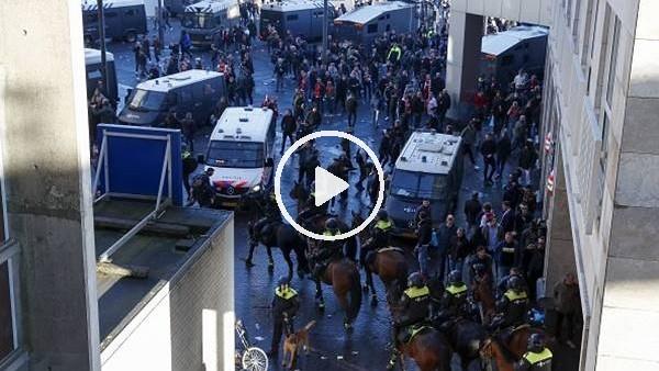'Ajax - Juventus maçı öncesi Amsterdam karıştı