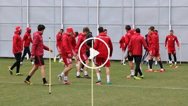 Sivasspor'da Kayserispor maçı hazırlıkları devam ediyor