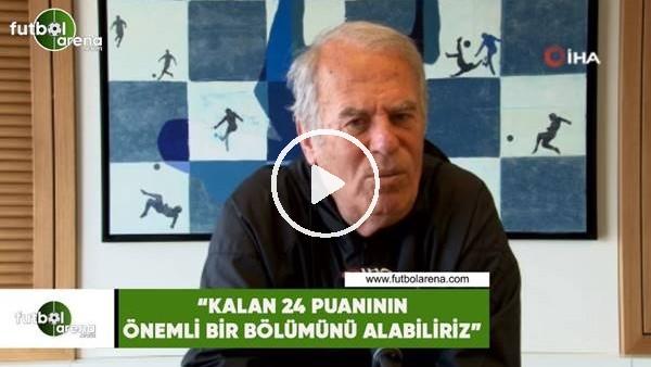 """'Mustafa Denizli: """"Kalan 24 puanın önemli bir bölümünü alabiliriz"""""""