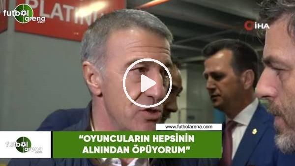 """'Ahmet Ağaoğlu: """"Oyuncuların hepsinin alnından öpüyorum"""""""