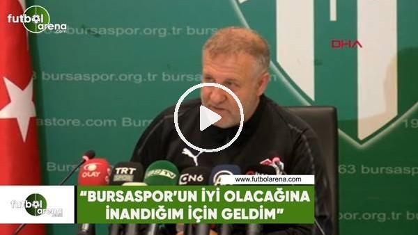"""'Mesut Bakkal: """"Bursaspor'un iyi olacağına inandığım için geldim"""""""
