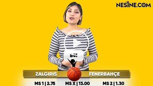 ' Zalgiris - Fenerbahçe TEK MAÇ Nesine'de!