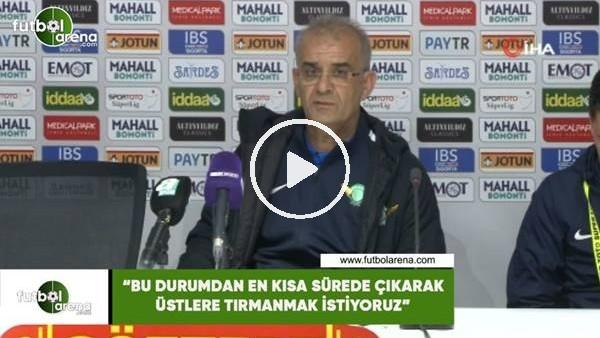 """Ercan Kahyaoğlu: """"Bu durumdan en kısa sürede çıkarak üstlere tırmanmak istiyoruz"""""""