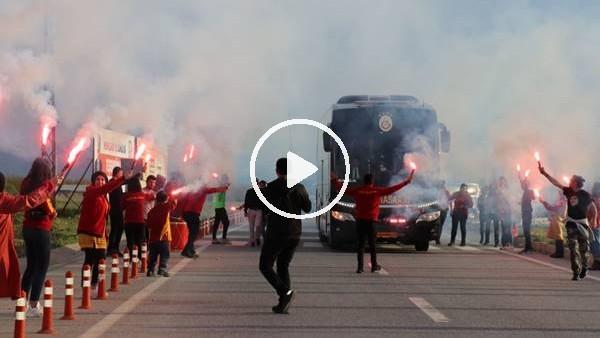 'Galatasaray kafilesi Malatya'ya geldi
