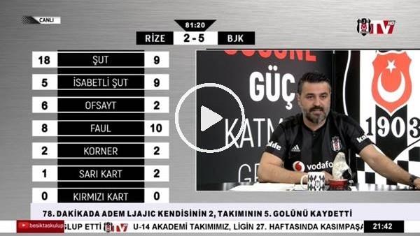Adem Ljajic ve Güven Yalçın'ın gollerinde BJK TV spikerleri coştu