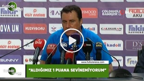 """'Mustafa Kaplan: """"Aldığımız 1 puana sevinemiyorum"""""""