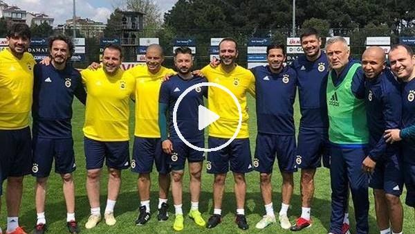 'Fenerbahçe'nin unutulmaz futbolcuları tekrar bir arada