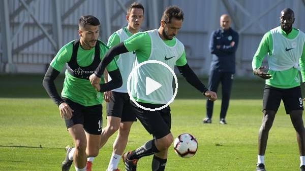 'Konyaspor'da Galatasaray maçı hazırlıkları
