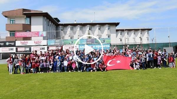 'Trabzonspor'da 23 Nisan coşkusu
