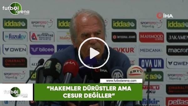 """'Mustafa Denizli: """"Hakemler dürüstler ama cesur değiller"""""""