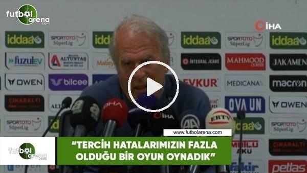 """Mustafa Denizli: """"Tercih hatalarımızın fazla olduğu bir oyun oynadık"""""""