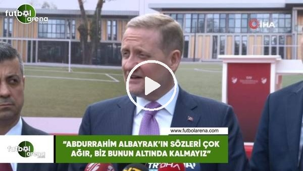 """'Göksel Gümüşdağ: """"Abdurrahim Albayrak'ın sözleri çok ağır, biz bunun altında kalmayız"""""""