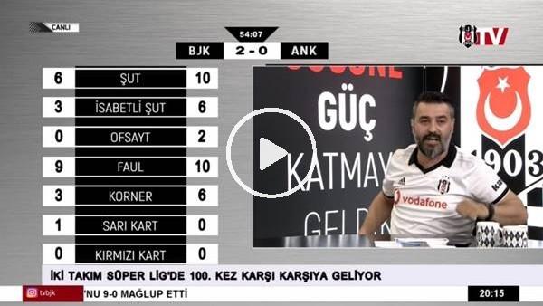 Domagoj Vida'nın golünde BJK TV spikerleri