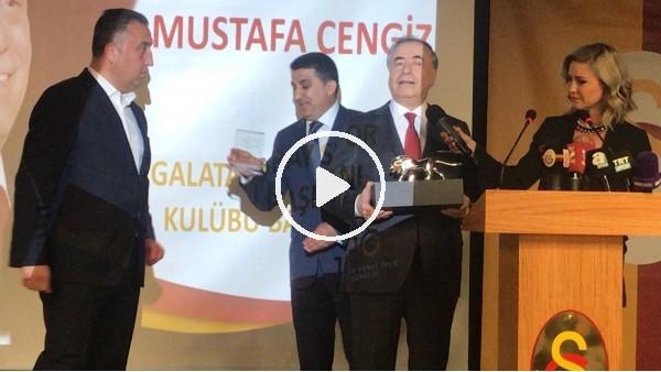' Mustafa Cengiz, 1905 Kültür Sanat Spor Derneği'nin verdiği berat törenine katıldı