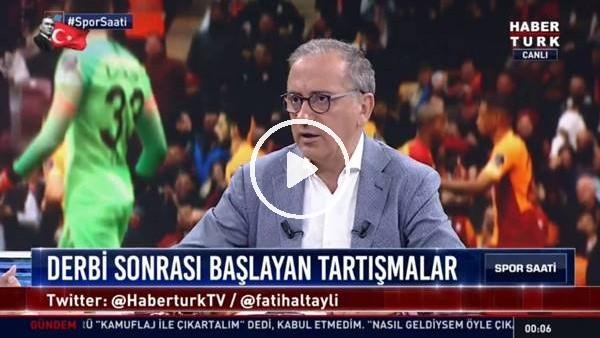 """'Fatih Altaylı: """"Ulenberg geldiğinden beri Türk hakemleri rezil"""""""