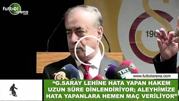 """'Mustafa Cengiz: """"Galatasaray lehine hata yapan hakem uzun süre dinlendiriliyor"""""""