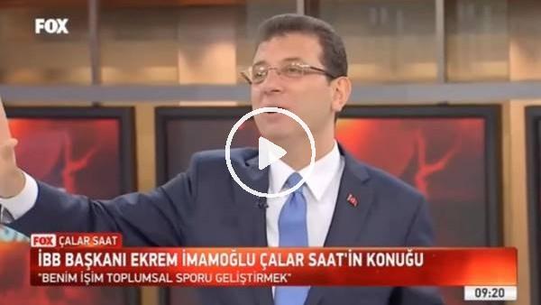 'Ekrem İmamoğlu'ndan Başakşehir sorusuna yanıt