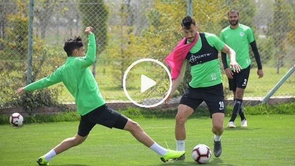 Konyaspor'da Aytemiz Alanyaspor maçıhazırlıkları