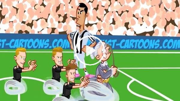 'Juventus - Ajax maçı animasyon film oldu