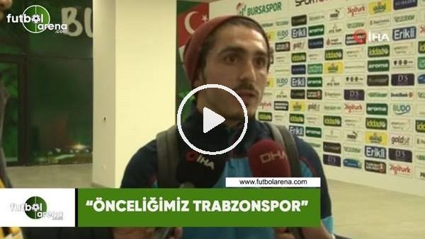 """'Abdulkadir Ömür: """"Önceliğimiz Trabzonspor"""""""