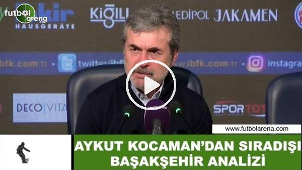 'Aykut Kocaman'dan sıradışı Başakşehir analizi