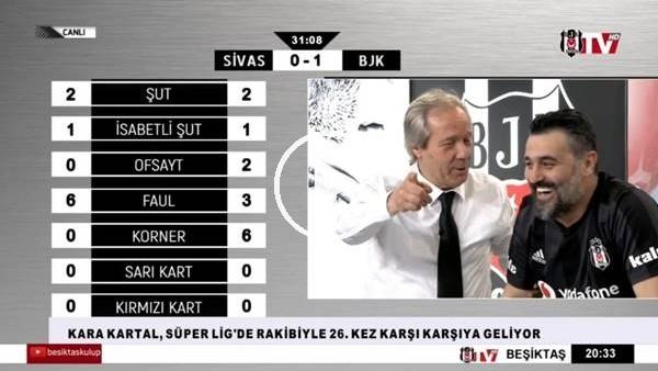Vida'nın golünde BJK TV spikerleri
