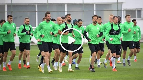 'Konyaspor'da Sivasspor maçı hazırlıkları